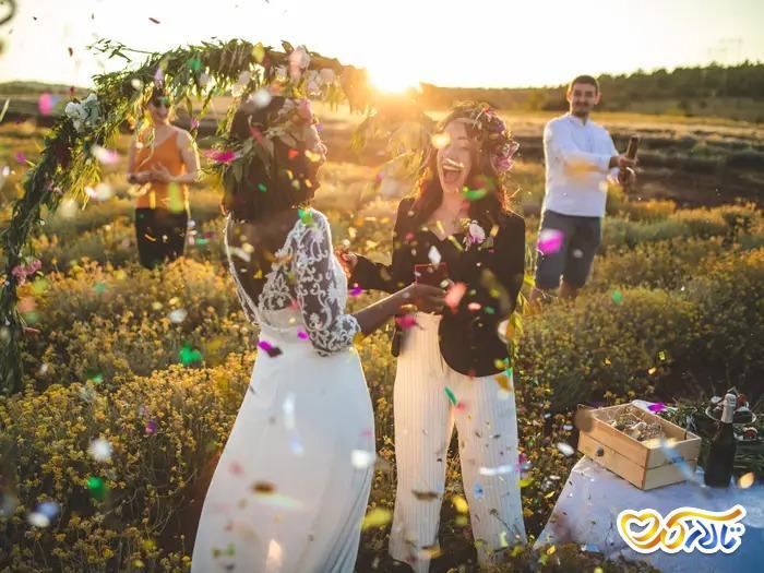 ایدههای خلاقانه 2021 برای روز عروسی