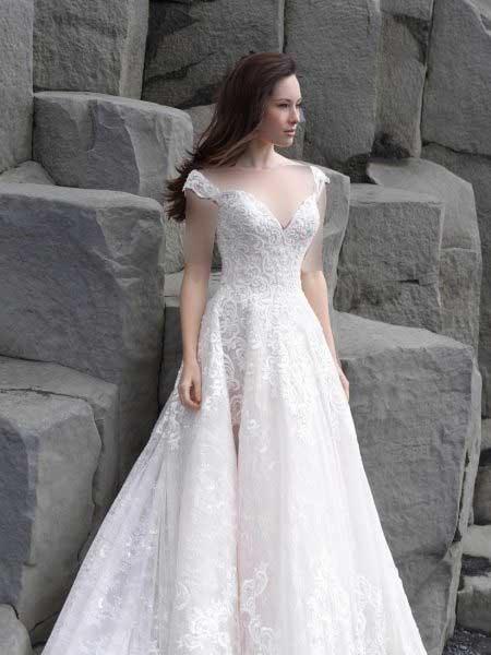 پارچه لباس عروس ارگانزا