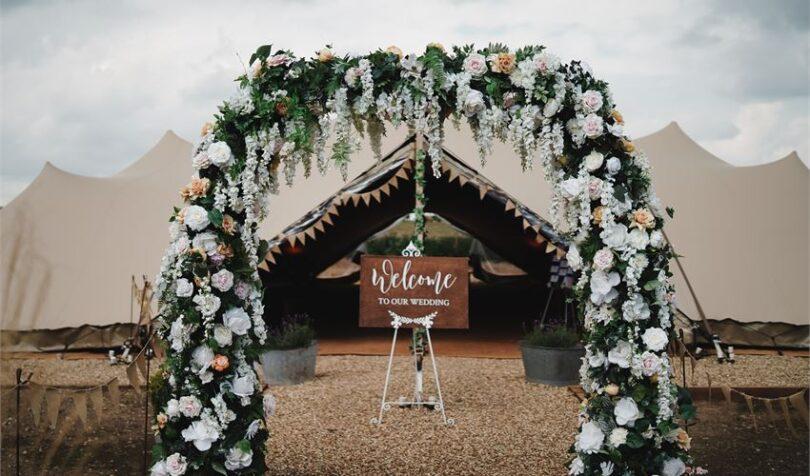 عروسی باغ شخصی