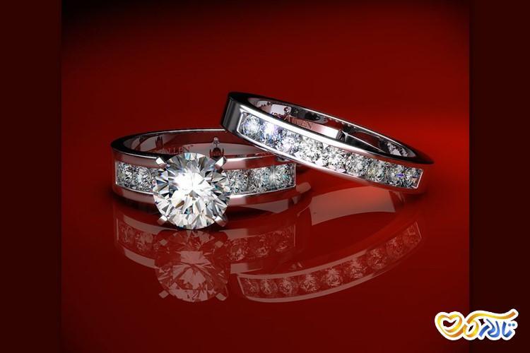 حلقه های ازدواج و نامزدی و خرید حلقه عروسی