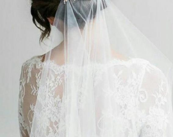 تور لباس عروس زیبا و خاص