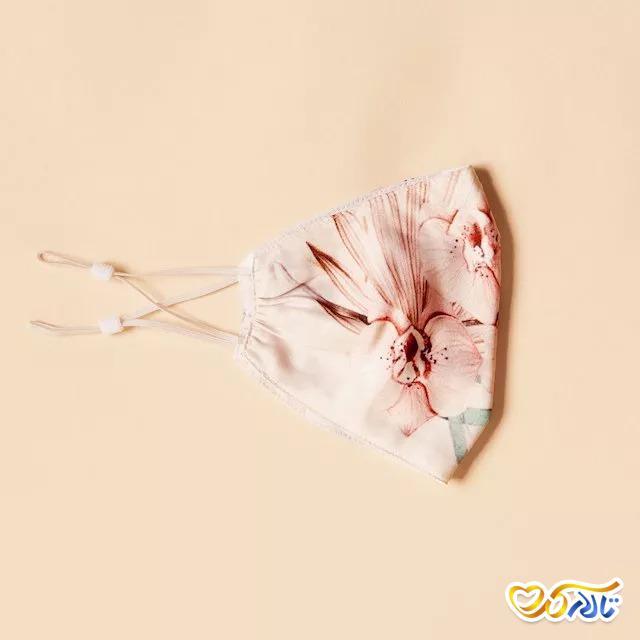 ماسک عروسی طرح گل