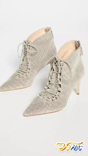 مدل کفش عروسی پوست ماری