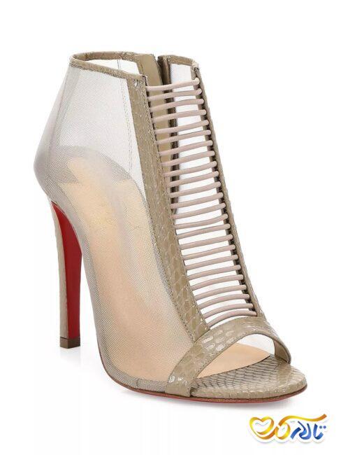 کفش توری عروس