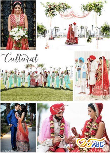 سبک های مختلف عروسی