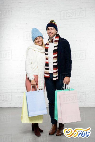 خرید کردن زمستان عروسی