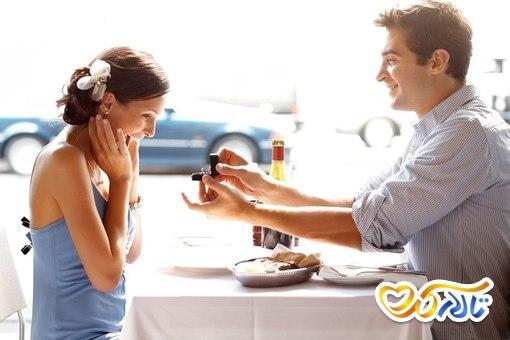 ایده برای خواستگاری : خواستگاری در رستوران