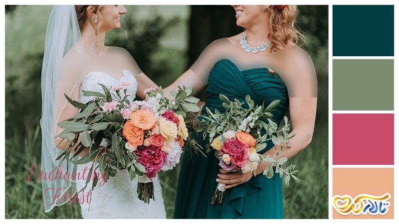 رنگ عروسی سال 2019