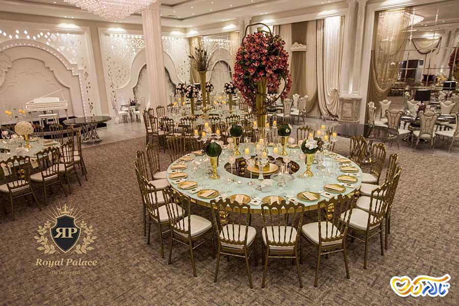 تالار عروسی رویال پالاس شرق تهران