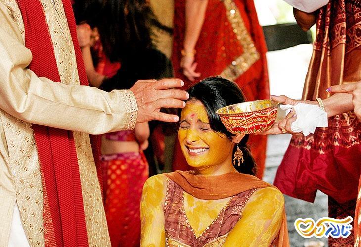 سنت های مراسم عروسی هندی