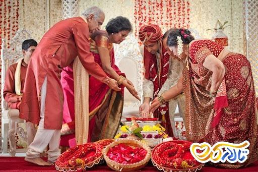 جشن عروسی هندی
