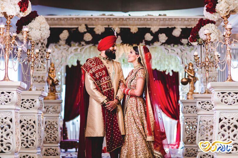 مراسم عروسی هندی