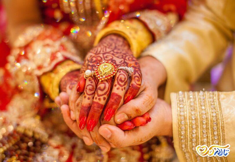 مراسم عروسی در هند