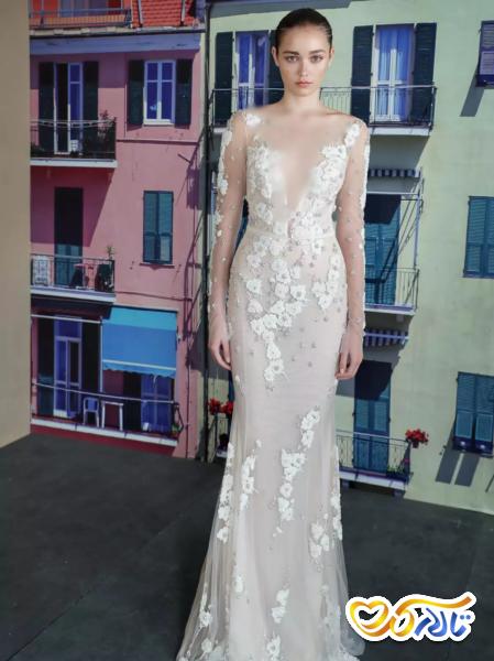 لباس عروس تور دانتیل