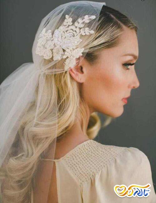 انتخاب تور سر عروس جدید