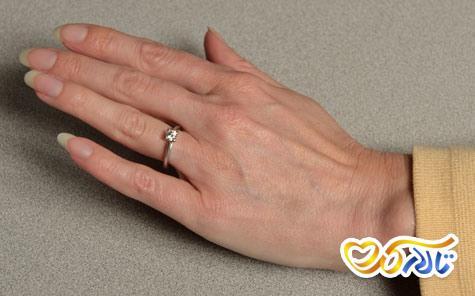 انتخاب حلقه عروسی متناسب با انگشتان