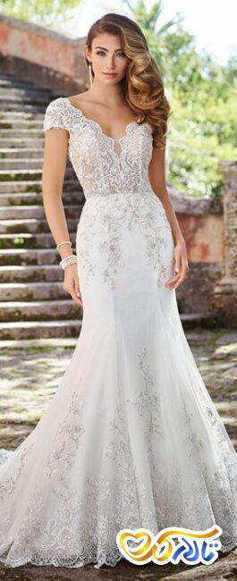 مدل لباس عروس ترومپت