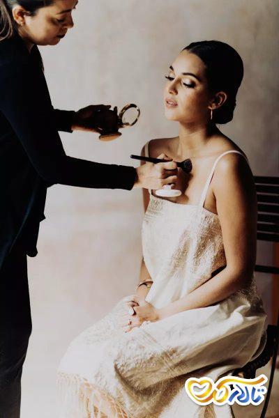 لوازم آرایش روز عروسی