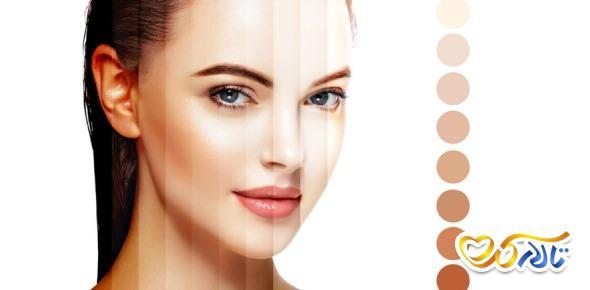 تشخیص زنگ پوست