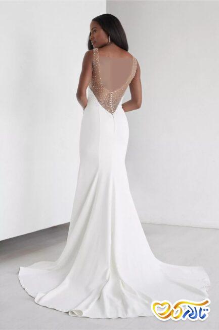 لباس عروس مرواریدی