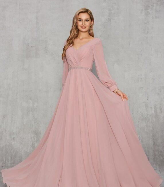 لباس مجلسی صورتی برای ساقدوش عروس
