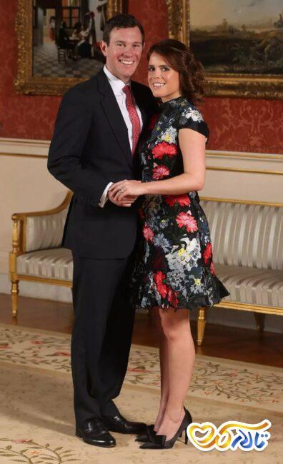 عکس عروس و داماد سلطنتی