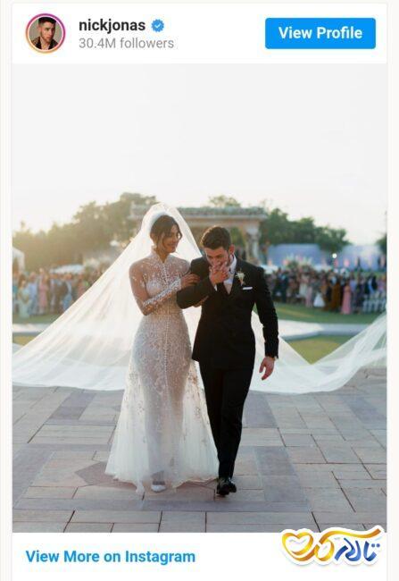 عروسی سلبریتی های مشهور