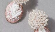 گوشواره ی طرح گل زیبا برای عروس