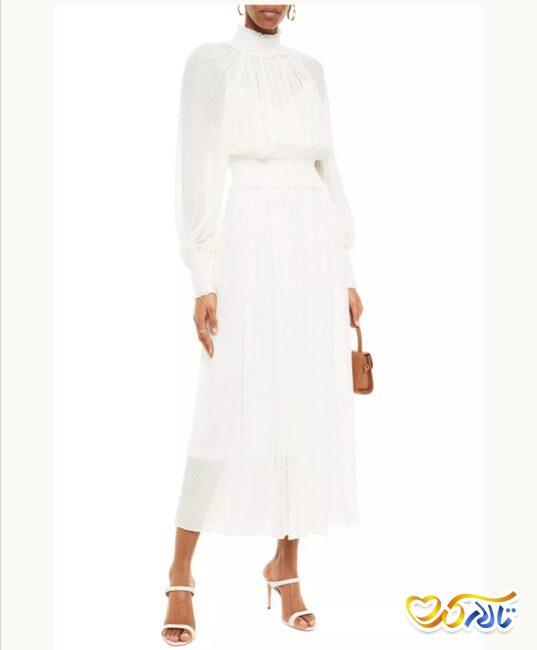 مدل لباس عروس بلند و ابریشمی