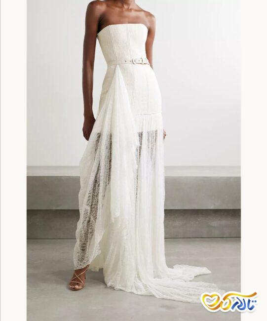 لباس عروس زیبا و منحصر به فرد