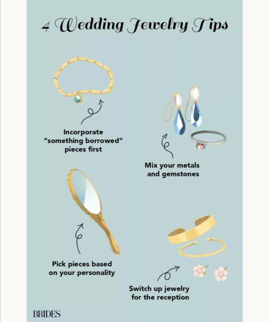 نکات انتخاب جواهرات عروسی