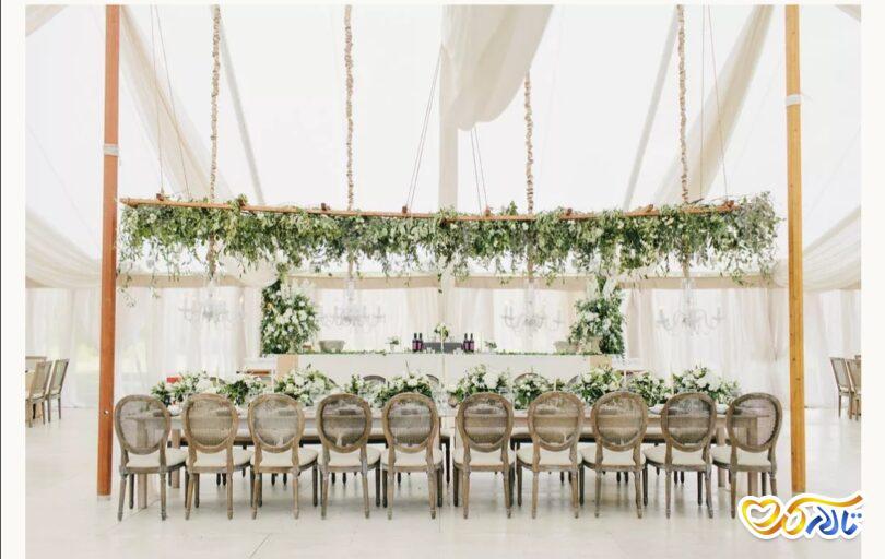 ایده نصب چادر و اجرای مراسم عروسی در فضای باز