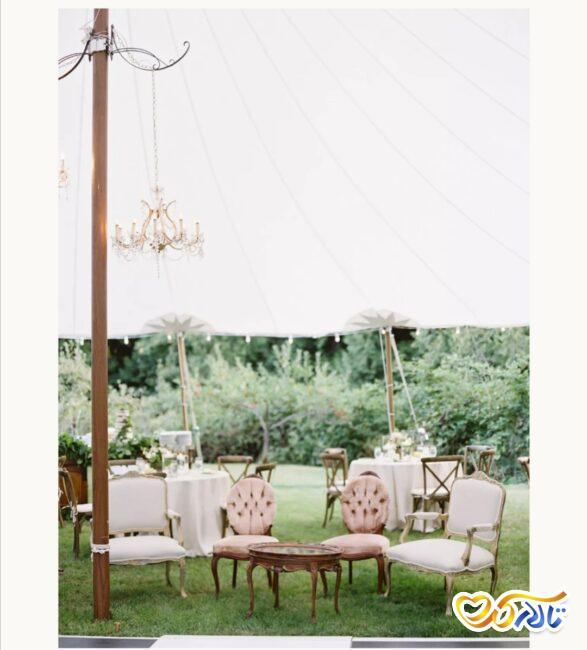 برگزاری جشن عروسی در چادر و فضای باز