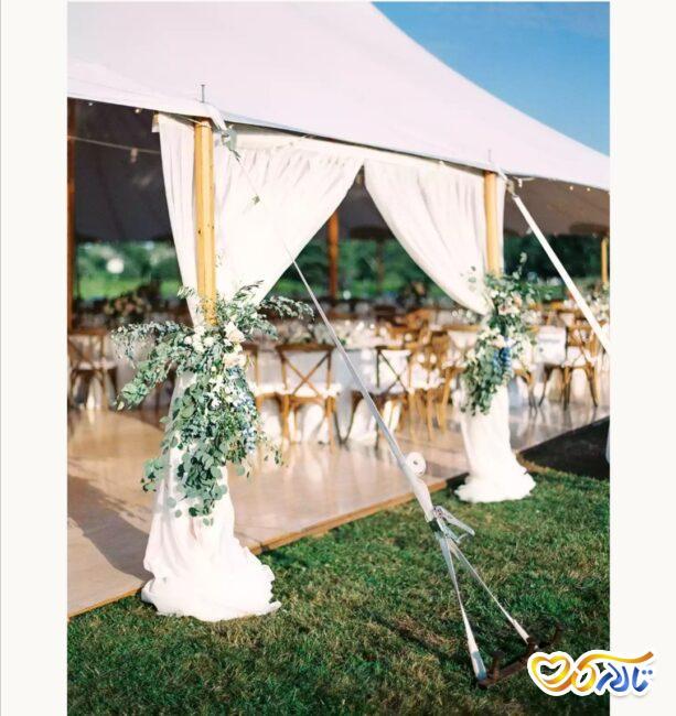 ایده برگزاری مراسم عروسی و نامزدی در فضای باز