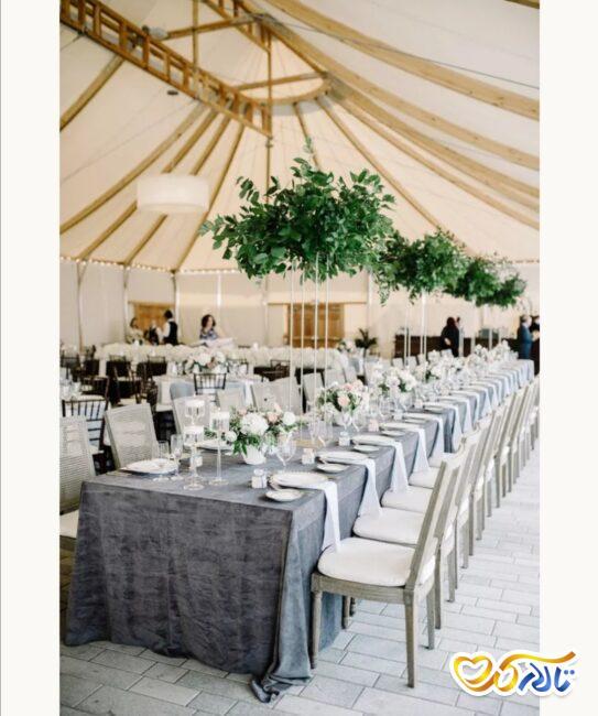 برگزاری مراسم عقد و عروسی در چادر