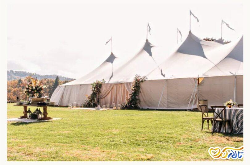 تشریفات برگزاری مراسم عروسی در چادر و فضای باز