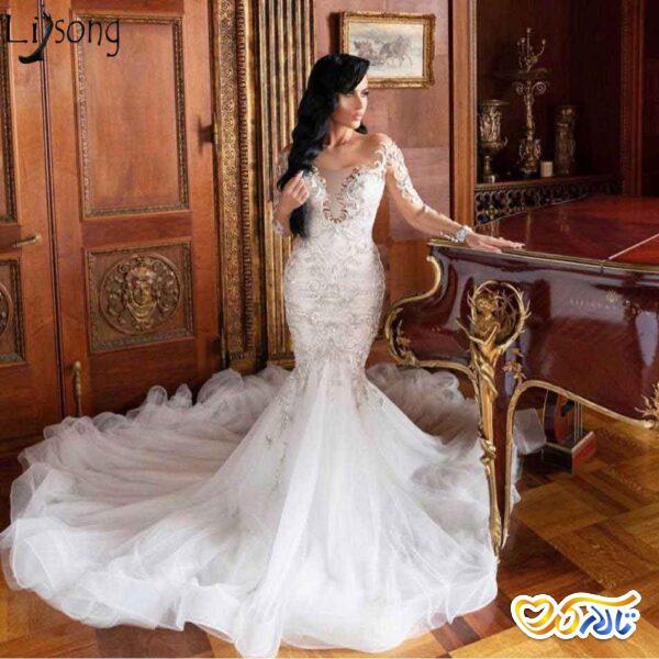 لباس عروس پری دریایی, لباس عروس مدل ماهی