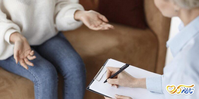 مشاوره کاهش استرس عروسی
