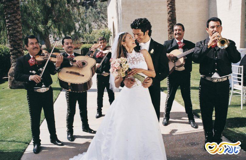 رقص دو نفره عروس داماد