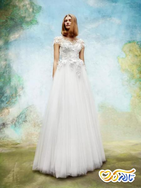 لباس عروس دانتل مدل ویکتوریا