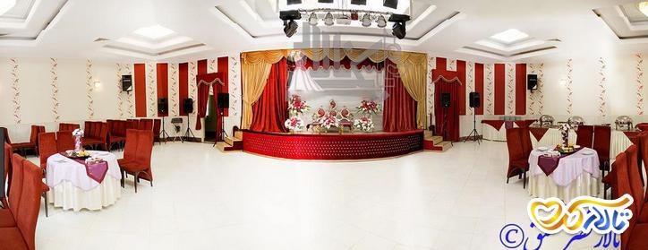 تالار پذیرایی قصر عقیق