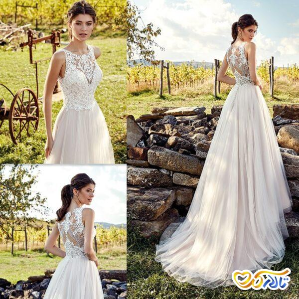 لباس عروس تنگ