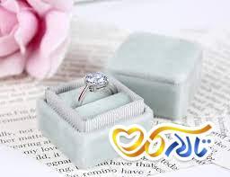 جعبه حلقه عروسی