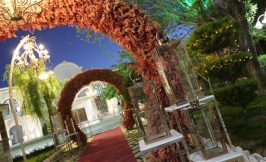 باغ تالار سه گل, باغ عروسی سه گل احمدآباد