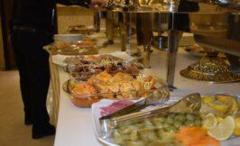 غذا و پذیرایی سناتور