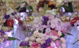 گل آرایی سالن هورام