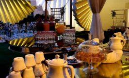 غذاها و دسرهای باغ تالار دانش