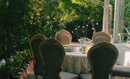 دکوراسیون و فضای باز باغ کلاسیک