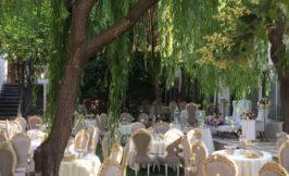 فضای باز باغ تالار کلاسیک