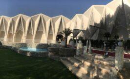 فضای باز و باغ تالار دارایی